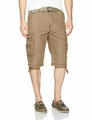 9bf0c4d48c Unionbay Men's Cordova Belted Messenger Cargo Shorts - Reg / Big and Tall  Sizes