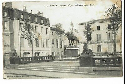 CPA-Carte postale-FRANCE Nancy - Square Lafayette -1916-  S287
