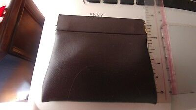 New Faux Leather Purse Squeeze Coin Pouch  For Change  Men/women