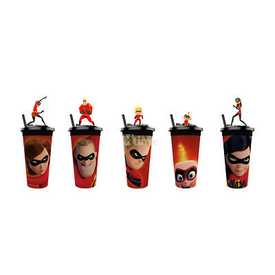 The Incredibles 2 Elastigirl Jack-Jack Dash Figure Topper Cup Exclusive Theater
