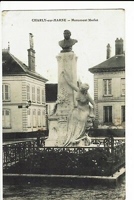 CPA-Carte postale-FRANCE - Charly-sur-Marne- Monument Morlot - 1916- S291