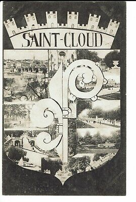 CPA-Carte postale-FRANCE - Saint Cloud - Vues de la ville-1908-  S297