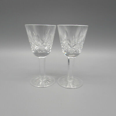 SET OF TWO - Waterford Crystal LISMORE Cordial Glasses