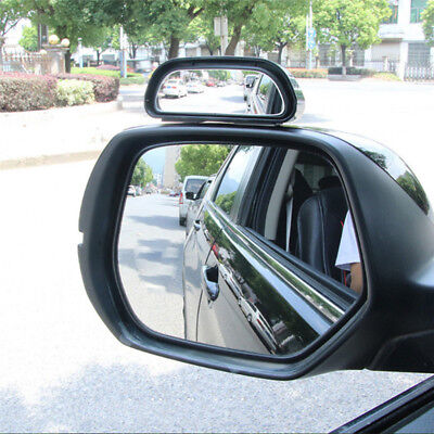 Car Wide Angle Mirror Convex Rearview Side View Mirror Blind Spot Mirrors TSCA