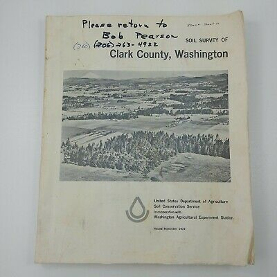 yf Soil Survey Clark County Washington State Dept of Agriculture 1972