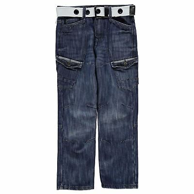 Airwalk Bambini Belted Cargo Jeans