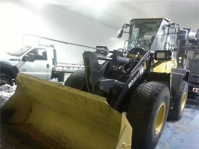 2011 wheel loader KOMATSU WA250 low hours