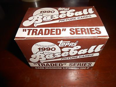 1990 Topps Traded Set (132) Unopened