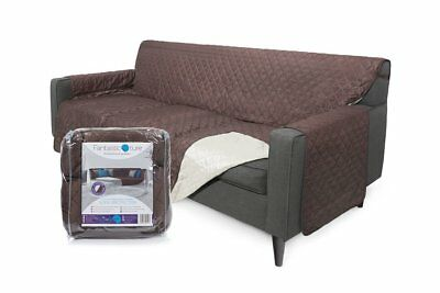 Furniture Protector Cover for Couch or Sofa: Reversible, Water Resistant Medium