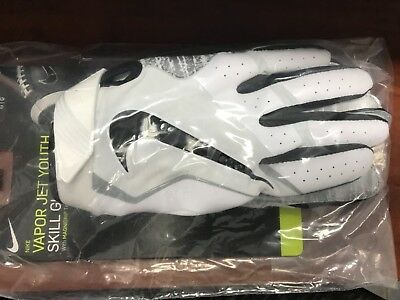 NIKE Vapor Jet 4.0 Skill glove Football American Gloves Sz lg  new you