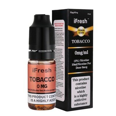 5X IFRESH E-LIQUID Cigarette Premuim Oil Vape Juice 10ml