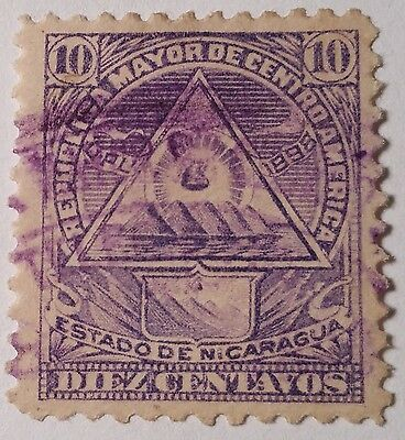 Nicaragua  Used Stamp Scu899Wq.....worldwide Stamps