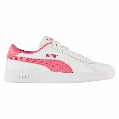 PUMA KIDS GIRLS Smash Suede Infant Trainers Strap Casual Comfortable ... 649823501