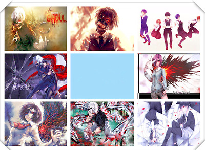 Anime Tokyo Ghoul Wall Poster Japanese Anime Art Poster 16.5x11.25 Inches