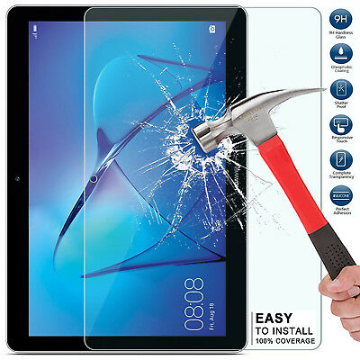 "Tempered Glass Screen Protector Genuine Film For Huawei MediaPad T3 10 9.6"" Inch"
