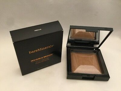 bareMinerals Invisible Bronze Powder Bronzer Medium Full Size 0.24 oz New In Box