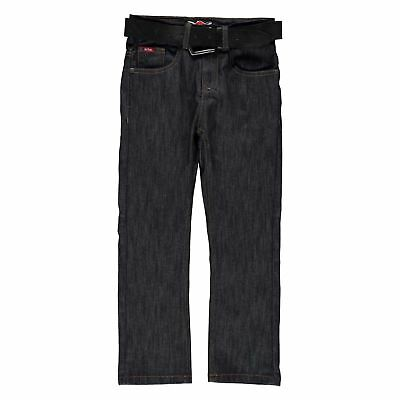 Lee Cooper Bambini C Belted Straight Jeans