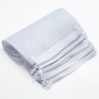 5 x Aquarium Pond Zip Filter Media Bags 20 x 30 cm for Carbon Bio Balls Zeolite