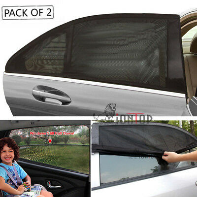 2 Piece Auto Window Sun Shade Sock Cover UV Protector Baby Child Shield For Car