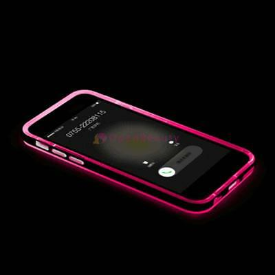 2017 Incoming Call LED Light UP Frame Phone Case Cover for iPhone 6S Plus R FT