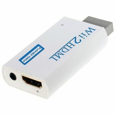 Wii to HDMI 480P Converter Adapter Wii2 hdmi 3.5mm Audio Box Wii-link