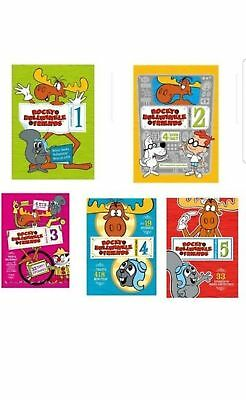 New Rocky Bullwinkle and Friends Complete Series 12345 Season 1-5