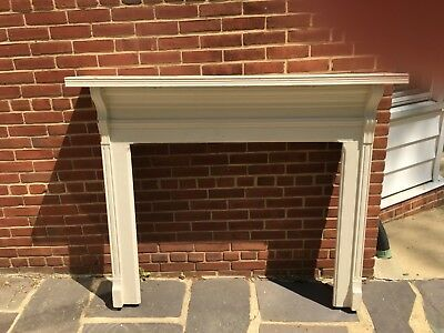 Antique Fireplace Mantle Surround. Clean Lines. Beautiful