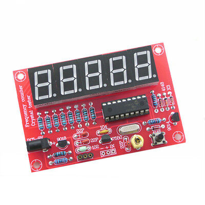 Sale~Digital LED 1Hz-50MHz Crystal Oscillator Frequency Counter Meter Tester Kit