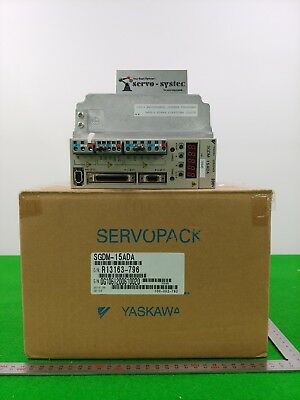 Yaskawa Ac Servo Driver Sgdm-15Ada 0.5Kw (New In Box) Dhl Int'l Shipping