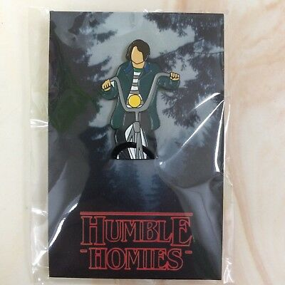 Netflix Original Series Stranger Things Mike Bicycle Soft Enamel Pin /100