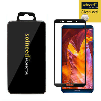 SOINEED Huawei Mate 10 Pro FULL COVER Tempered Glass Screen Protector
