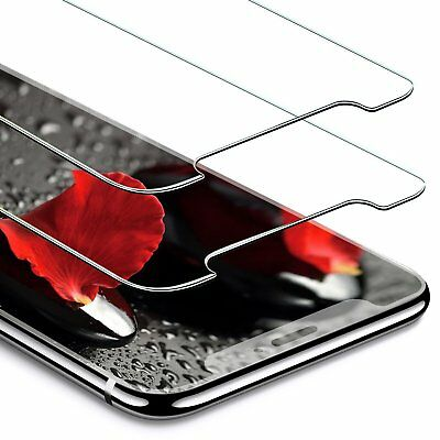 2 Pack iPhone X Tempered Glass Screen Protector 9H hardness Glass Anti-Scratch