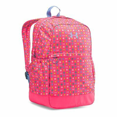 Under Armour UA Girls  Favorite Backpack, Harmony Red Purple Ice, School Bag 01e09a3ccf