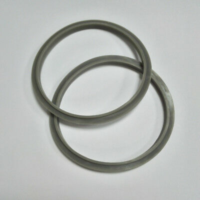 2 Replacement Grey Rubber Gasket Seals For NUTRIBULLET 600W/900W Blender Blade
