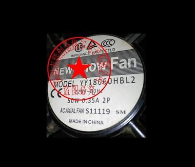 original  SNOW FAN YY18060HBL2 220V 50W 0.35A   180*180*60  fan 3month warranty