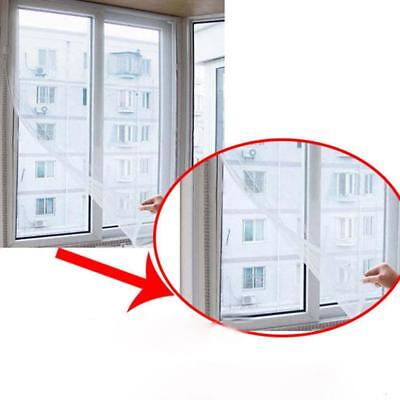 Self-adhesive Mosquito Screen Door Easy Window Net Mesh Cloth Curtain Protector