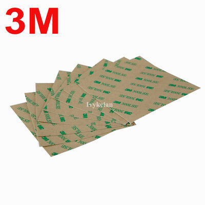 5pcs 100mmx100mm 3M 9495LE 300LSE High Strength Double Sided Adhesive Tape