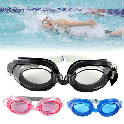 HD Flat Anti Fog Swimming Goggles for Men Women Boys Girls Adult Junior Kids