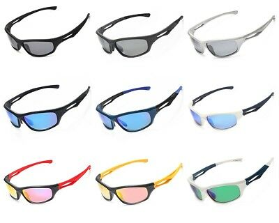 Siren Polarized Sports Sunglasses w Case TR90 Unbreakable Frame Multiple Colors