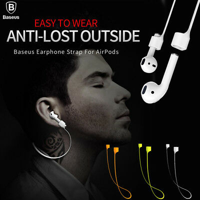 Baseus Earphone Strap For Airpods Anti Lost Drop Strap Magnetic Loop String Rope
