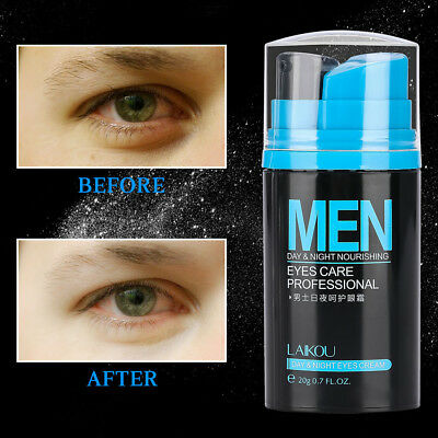 MEN DAY AND Night Under Eye Cream Removes Dark Circles Bags Firming Skin  Care LJ