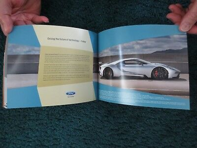 2018 Ford Gt And F150 Mustang And Full Line Cars And Trucks 3 Brochures Included