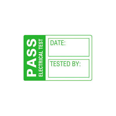 Martindale LAB1 Small PASS PAT Test Labels - Roll Of 500