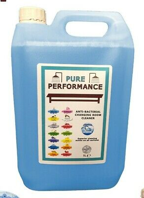Pure Performance - Anti-Bacterial Changing Locker Room Cleaner 5L - Baby Talc
