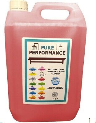 Pure Performance - Anti-Bacterial Changing Locker Room Cleaner 5L Dark Cherries
