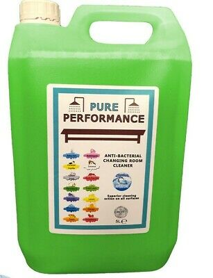 Pure Performance - Anti-Bacterial Changing Locker Room Cleaner 5L - Fresh Lawn