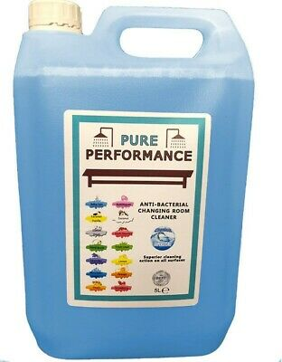 Pure Performance - Anti-Bacterial Changing Locker Room Cleaner 5L Mountain Fresh
