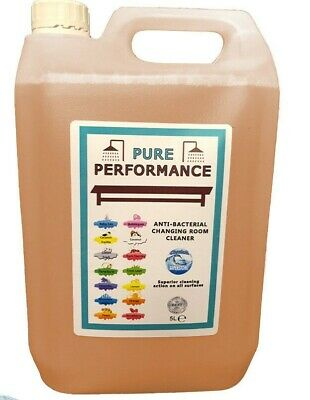 Pure Performance - Anti-Bacterial Changing Locker Room Cleaner 5L - Peach