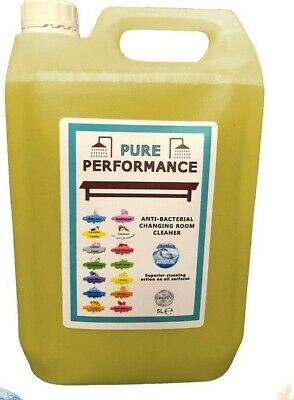 Pure Performance - Anti-Bacterial Changing Locker Room Cleaner 5L - Vanilla