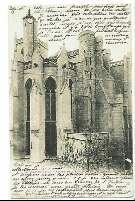 CPA-Carte postale-FRANCE - Capestang- Son Eglise 1906- S318